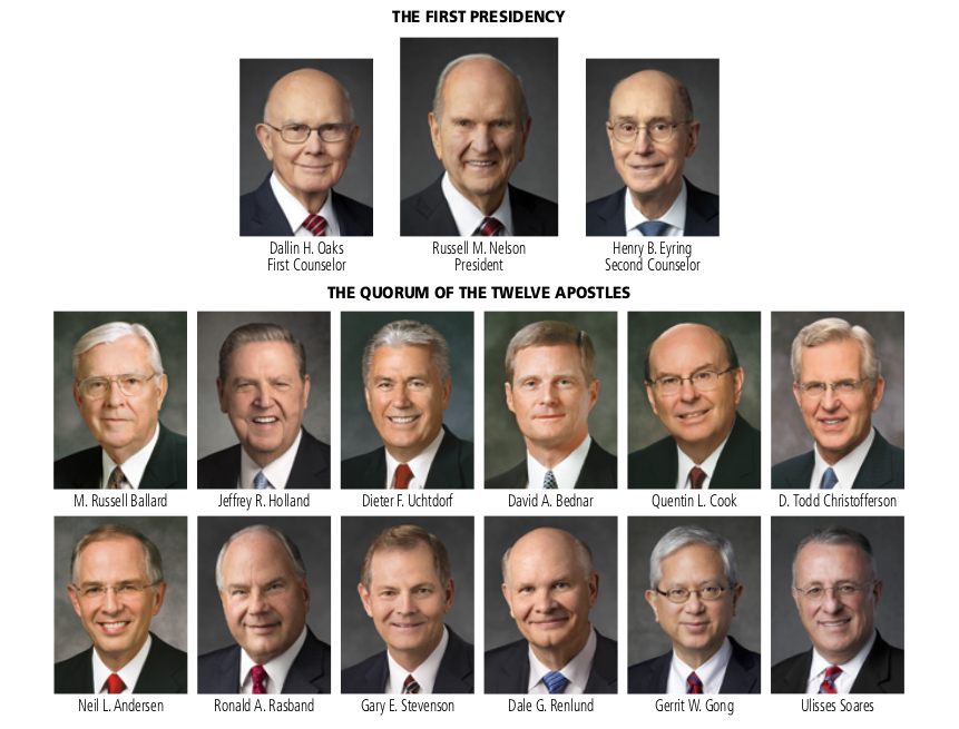 Proclamation of the Twelves Apostles of the Church of Jesus Christ of Latter Day Saints
